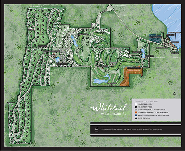 Whitetail Club Community Map