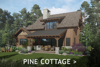 Shore Lodge Cottages at Whitetail Club in McCall Idaho