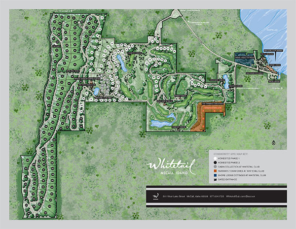Whitetail Club Community Site Plan