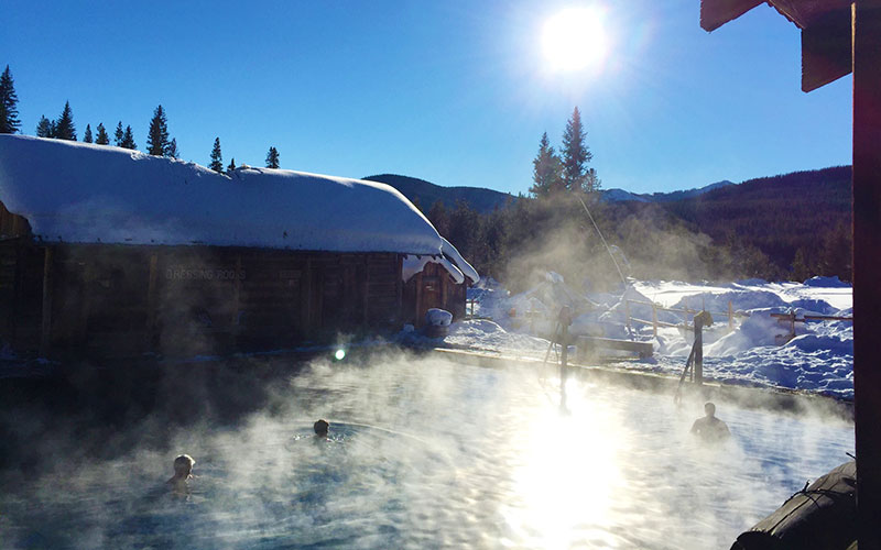 Fall Hot Springs