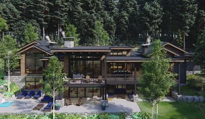 Evergreen Design Build Home