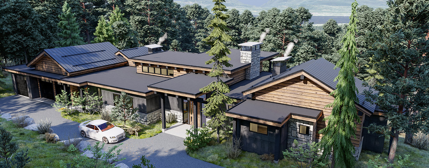 Design Build Evergreen Home