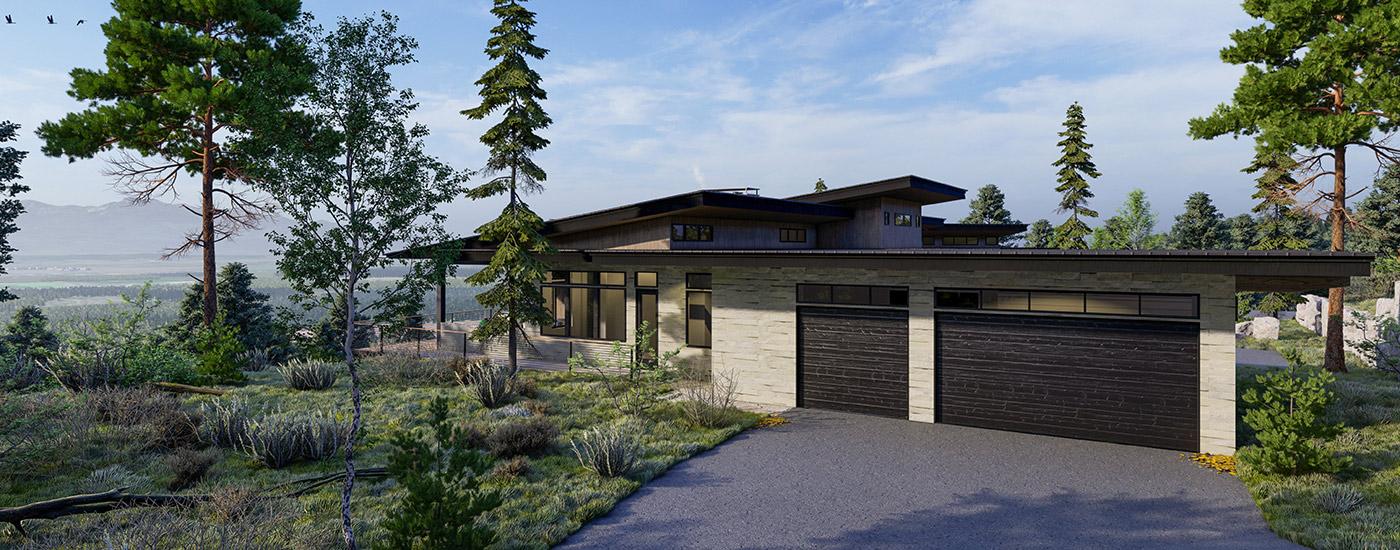 Northern Lights Design Home