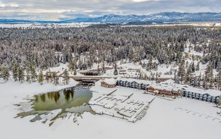 Payette Lake and Shore Lodge