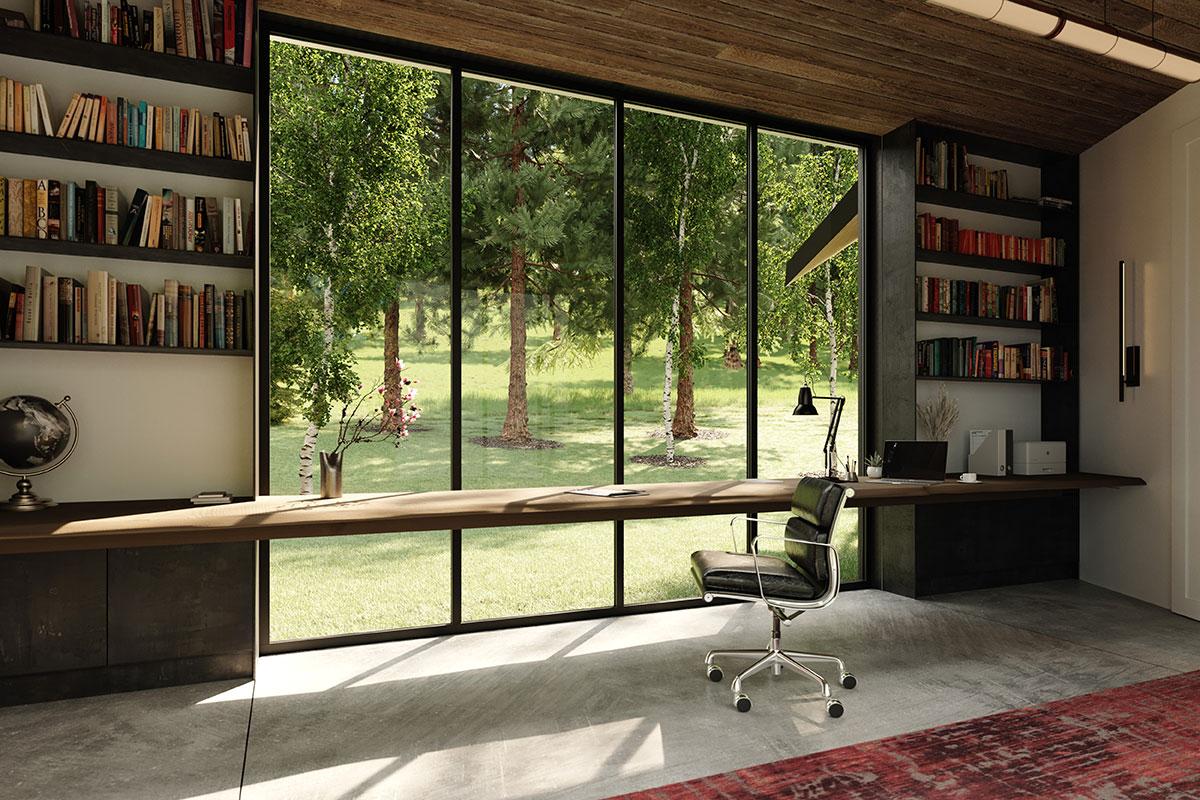 Design Build Office Rendering